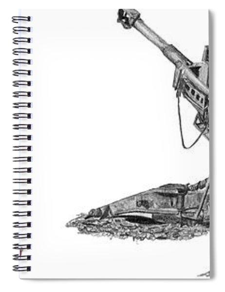 American Artillery Spiral Notebook