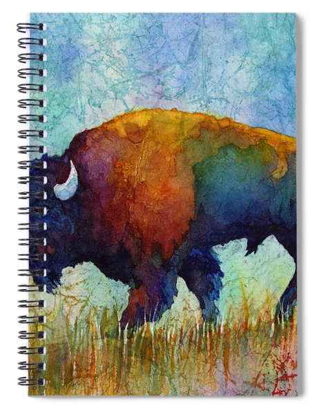 American Buffalo 5 Spiral Notebook