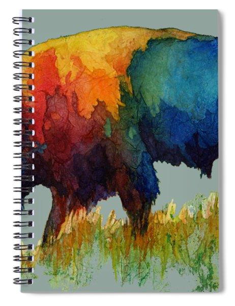 American Buffalo IIi Spiral Notebook