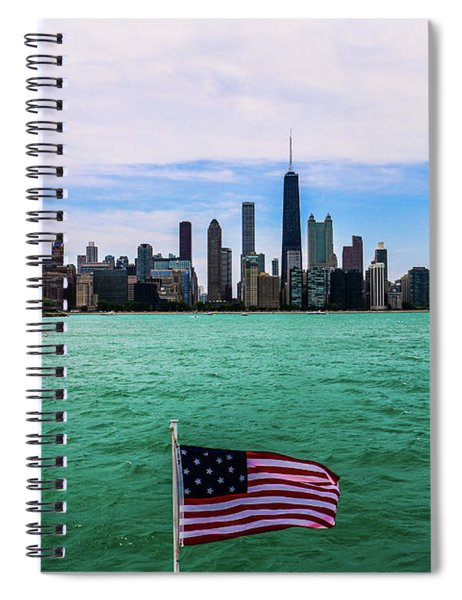 American Chi 2 Spiral Notebook