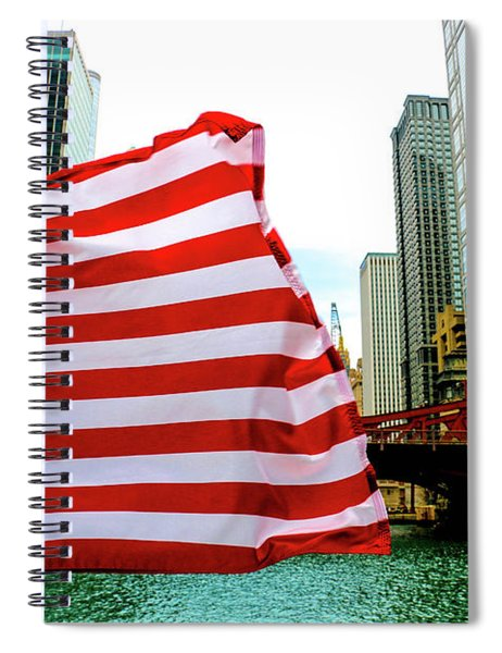 American Chi Spiral Notebook