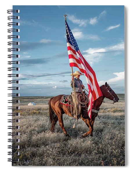 American Cowgirl Spiral Notebook