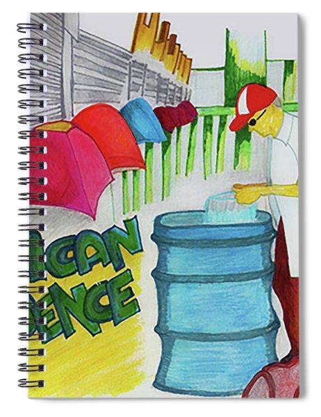 American Decadence Spiral Notebook