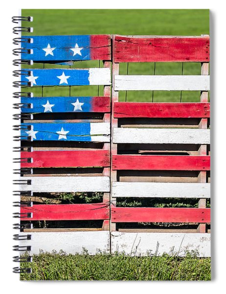 American Folk Art Spiral Notebook