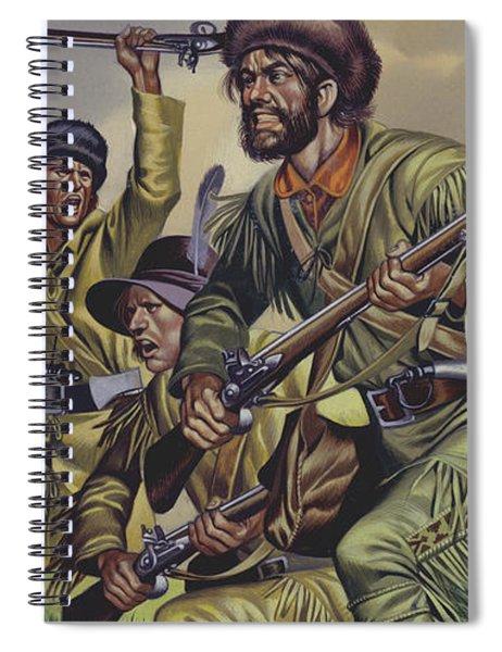 American Frontiersmen Spiral Notebook