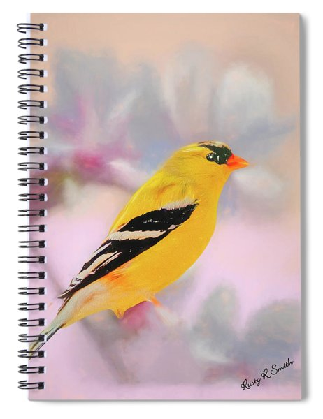 American Goldfinch. Spiral Notebook