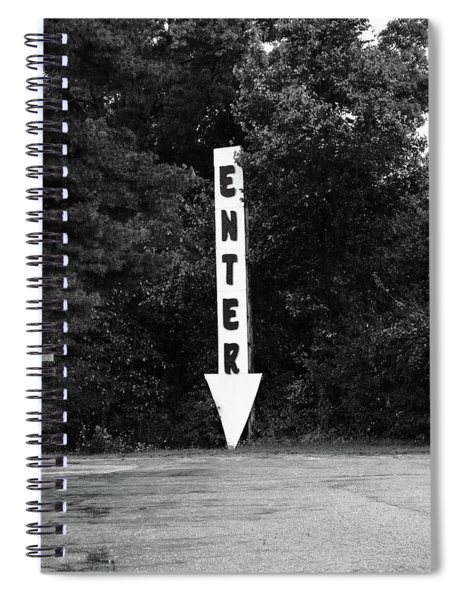American Interstate - Missouri I-70 Bw Spiral Notebook