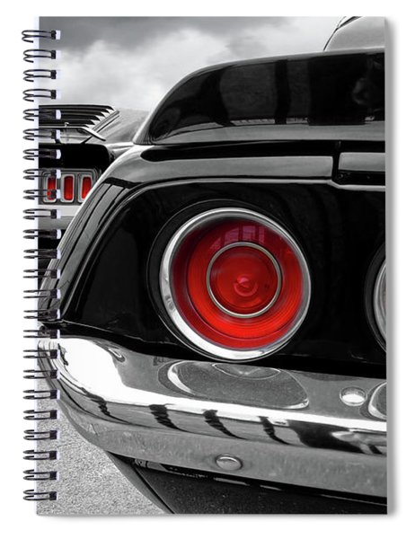 American Muscle Spiral Notebook