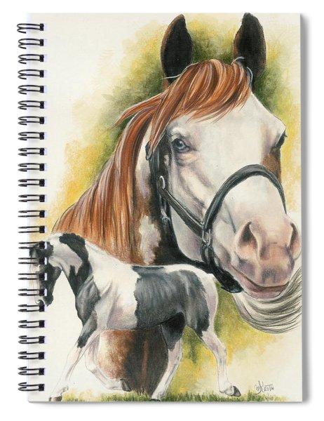 American Paint Spiral Notebook