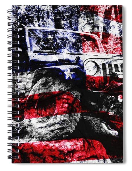 American Rock Crawler Spiral Notebook