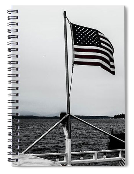 American Seattle Spiral Notebook