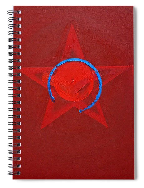 American Sky Blue Spiral Notebook
