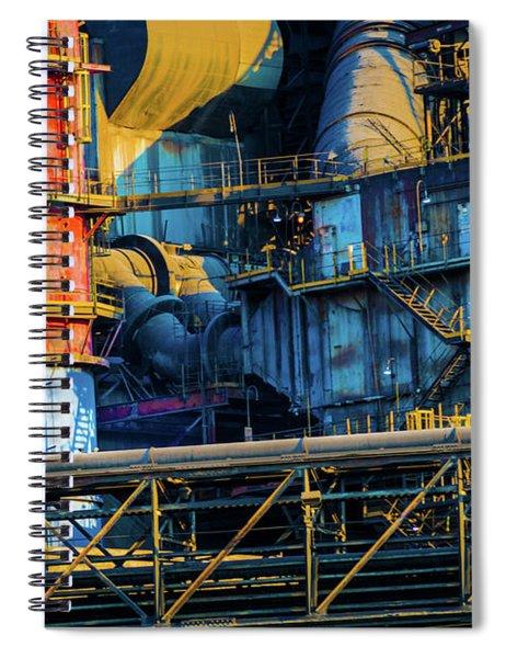 American Steel Spiral Notebook