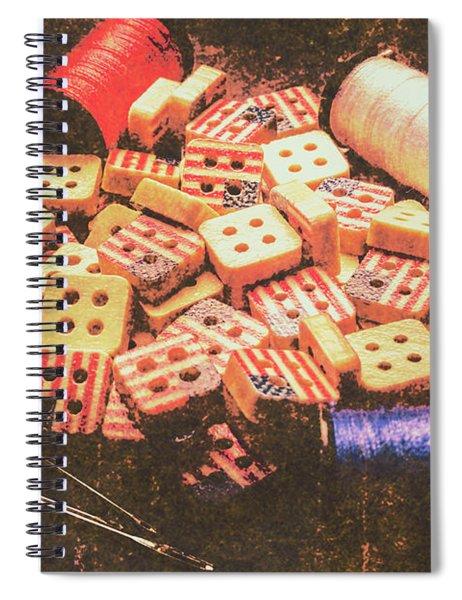 Americana Antiquities Spiral Notebook