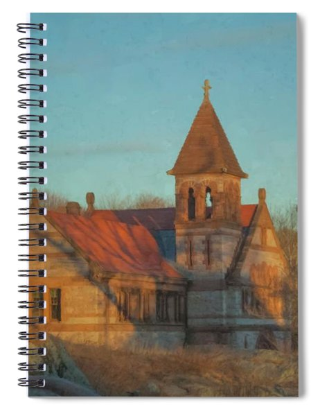 Ames Free Library At Solstice Spiral Notebook