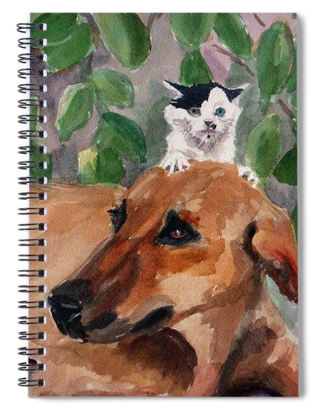 Amira And Junior Spiral Notebook