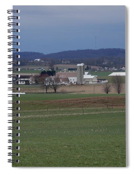 Amish Homestead 125 Spiral Notebook
