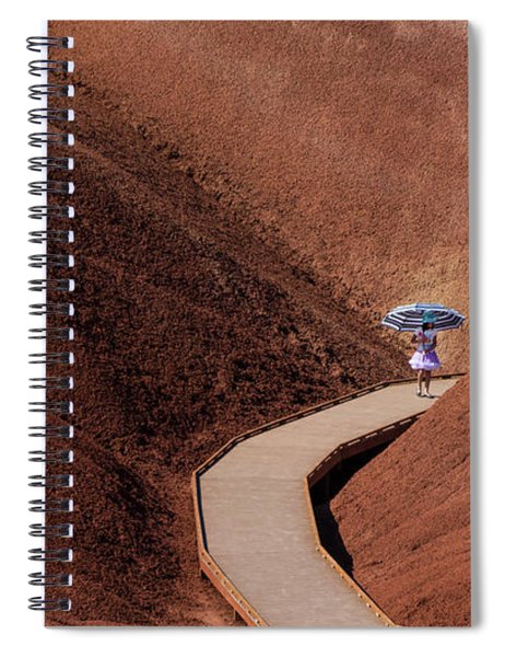 Among The Painted Hills Spiral Notebook