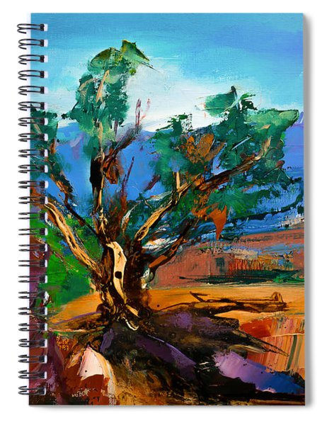 Among The Red Rocks - Sedona Spiral Notebook