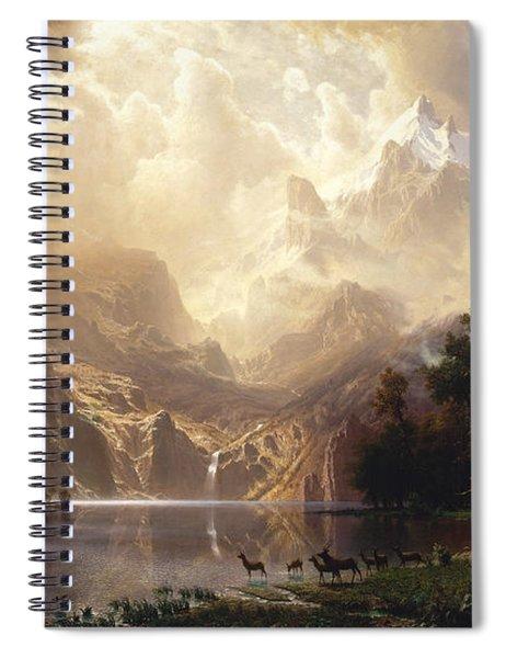 Among The Sierra Nevada Spiral Notebook