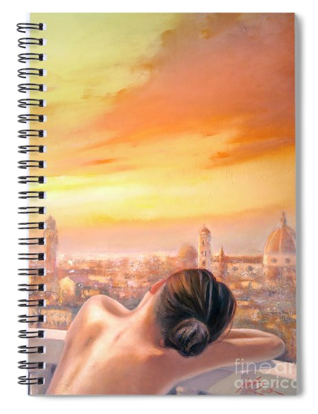Amore Di Firenze Love Of Florence Spiral Notebook
