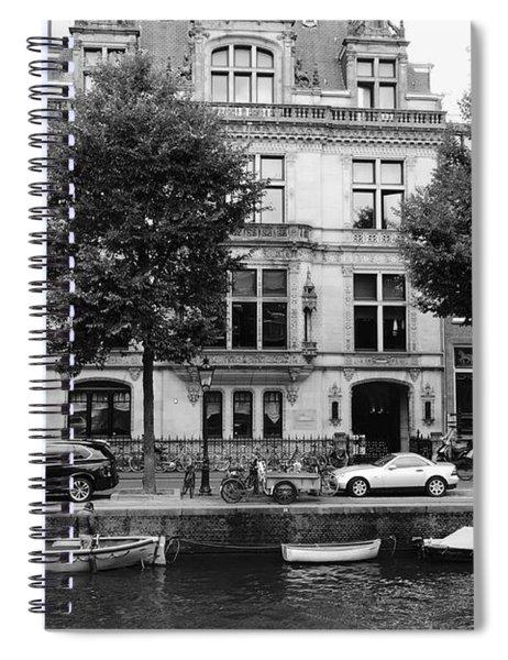 Amsterdam Mansions Spiral Notebook
