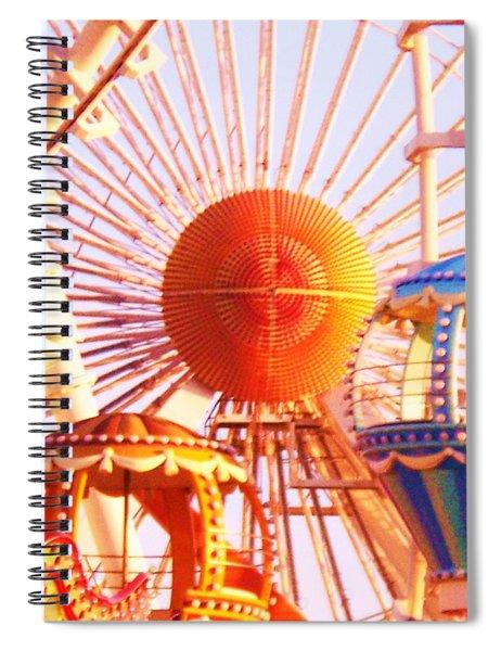 Amusement Rides Spiral Notebook