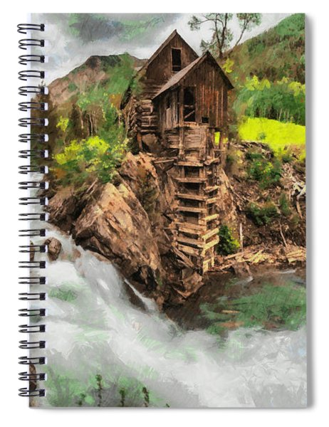 An Abandoned Mill Spiral Notebook