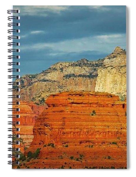 An Act Of God, Fay Canyon, Arizona Spiral Notebook