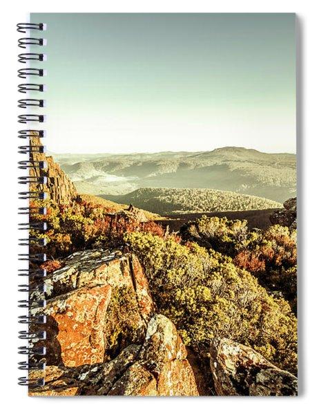 An Alpine Morning Spiral Notebook
