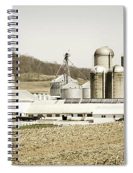 An American Farm Spiral Notebook