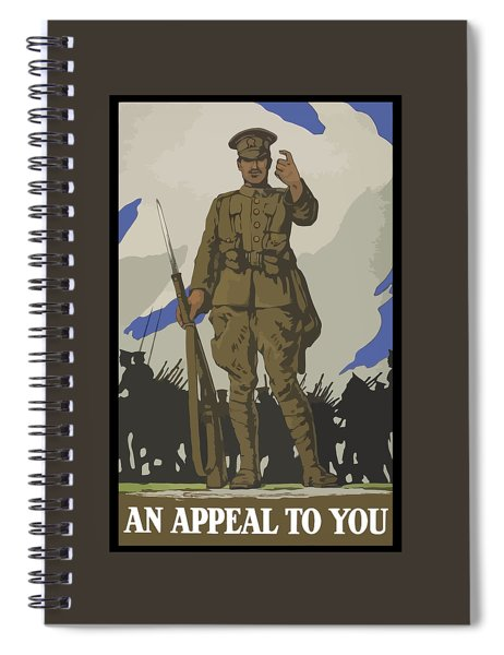 An Appeal To You Spiral Notebook