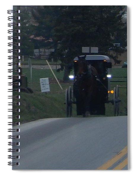 An Evening Commute Spiral Notebook