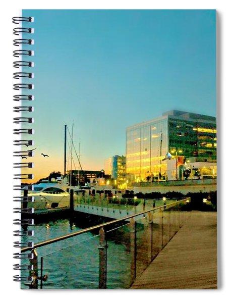 An Evening's Stroll Spiral Notebook