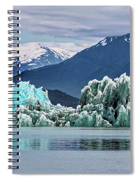 An Iceberg In The Inside Passage Of Alaska Spiral Notebook