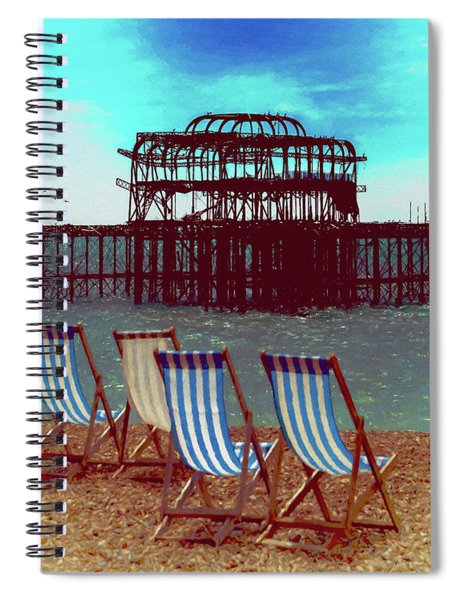 An Ode To Brighton Spiral Notebook