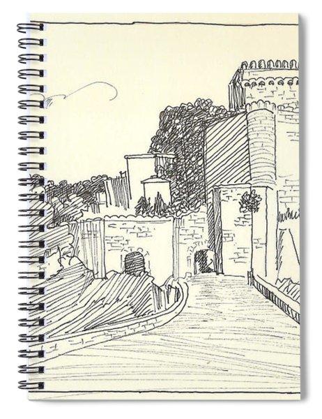 An Old Castle Spiral Notebook