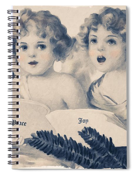 An Old Fashioned Christmas Greeting Spiral Notebook
