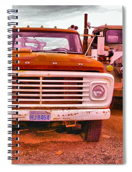 An Old Ford And Kenworth Spiral Notebook