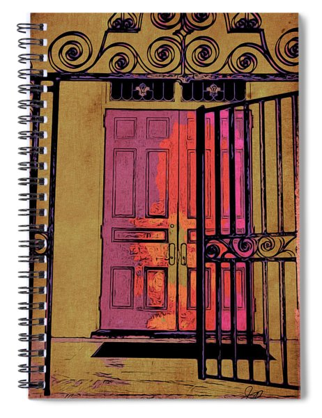 An Open Gate Spiral Notebook