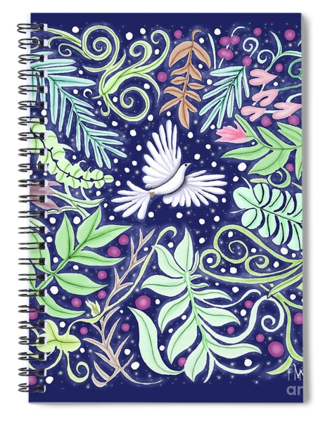 An Opening For A Dove Spiral Notebook