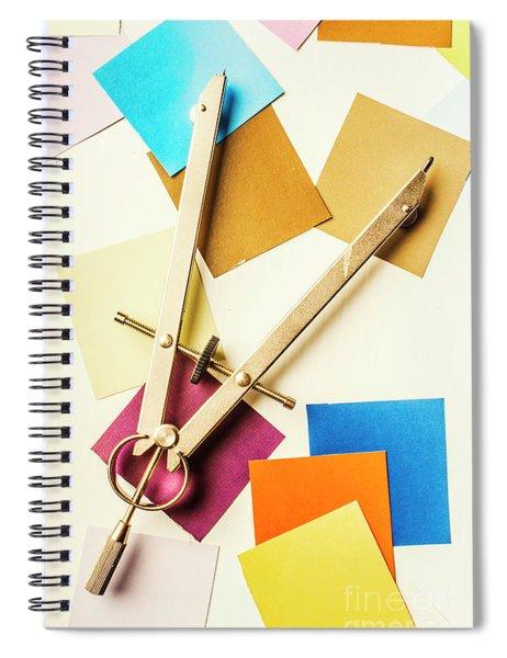 An Upside Down Build Spiral Notebook