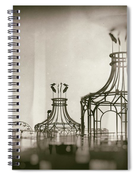 Analog On The Pier Spiral Notebook