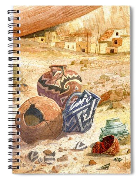 Anasazi Remnants Spiral Notebook
