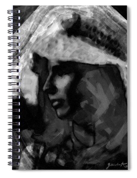 Anastasia Spiral Notebook