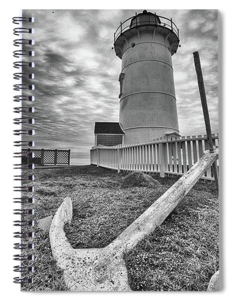 Anchor Lighthouse Spiral Notebook