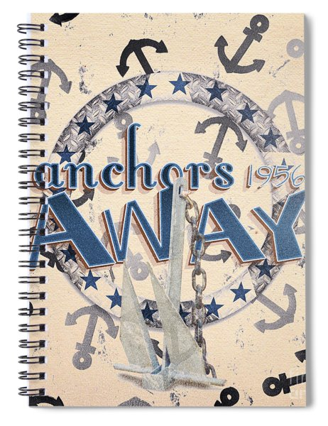 Anchors Away 1956 Spiral Notebook