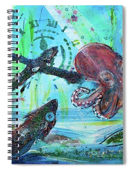 Anchors Away Spiral Notebook