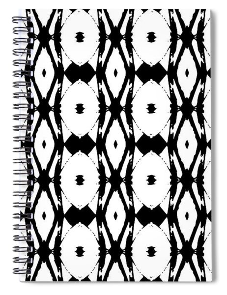 Ancient Carving Vertical Spiral Notebook