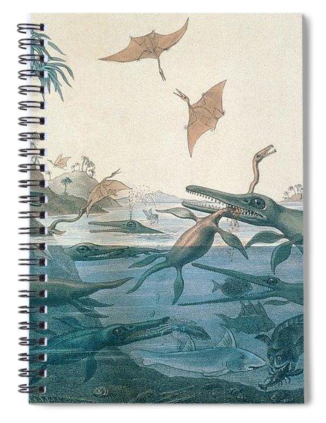 Ancient Dorset Spiral Notebook